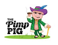 The Pimp Pig logo