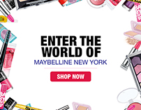 Maybelline New York F-Commerce Tab