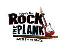Rock the Plank Battle of the Bands Logo