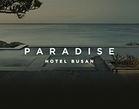 PARADISE HOTEL BUSAN Website Design