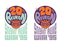 Princeton Class of 1995 20th Reunion Logo