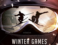Winter Games Flyer