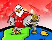 El Ahly win conf cup