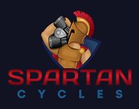 Spartan American Motorcycle Logo