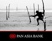 Invitation card for PanAsia Bank Sri Lanka