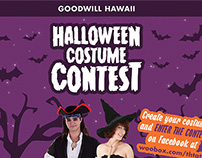 Goodwill Hawaii: Halloween Ads