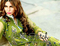 Kalyan Embroidered Linen Collection 2014