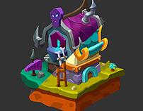 Fantasy house concept