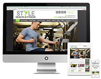 Style Health & Fitness website