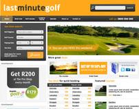 Lastminutegolf Web & Mobile Design