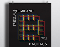 Prochur of Bauhaus Exhibition