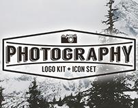Photography Logo Kit and Icon Set
