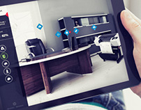 Autodesk Virtual Office | Interactive Interface Design