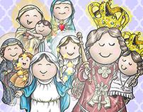 PRINT | Virgencitas calendario