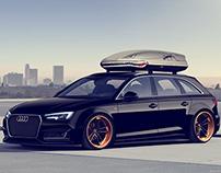 Widebody Audi A4 Avant