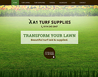 Turf Suppliers - Web Design