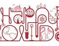 Happy Holidays creative