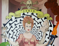 Artworks (paintings) by Cenin