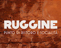 RUGGINE brand identity