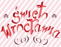 Poster with typography  - Święto Wrocławia