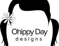 Logo for Ohippyday Designs
