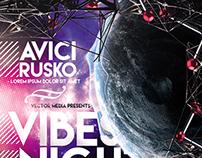 Vibes Night - Flyer
