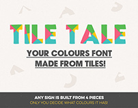 Tile Tale Font System