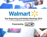 Walmart Leadership Meeting 2014 Proposal Book