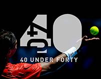 40 Under 40 Awards - Branding