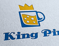 King Pint Logo Template