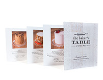 The Baker's Table Signature Cake Brochure