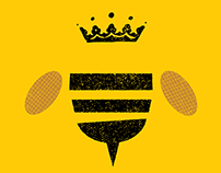 King Bee Honey Logo