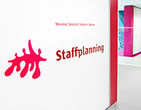 STAFFPLANNING Interior Rebranding