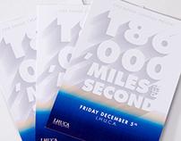 180,000 Miles Per Second
