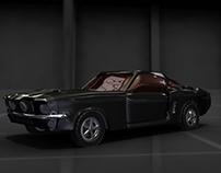 Ford Shelby (Autodesk Maya)