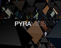 PYRAMIIIDS - little experimentation in 10min with C4D!