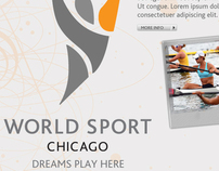 World Sport Chicago | Web and Advertisements