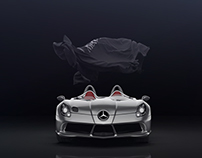 Mercedes-Benz SLR McLaren Stirling Moss CGi