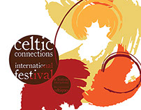 Celtic Connections International Festival Branding