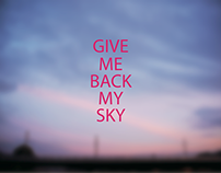 BACK ME THE SKY poster