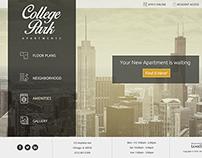 College Park Apartments Website