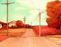 Emerveillement Concept: Violet Road