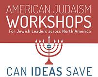 American Jewish Print Ad