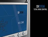 SYSTEM Senior Home Control presentation board
