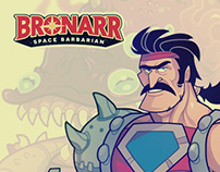 Bronarr Space Barbarian