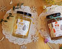A.thlee Honey - Branding&packaging