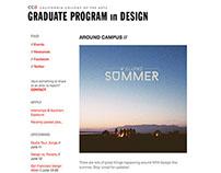MFA Design Email Newsletter