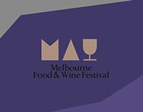 Melbourne Food & Wine Festival - Website Redesign