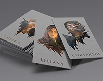 Dragon Age: Inquisition Character Cards