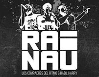 Rai Nau: Compadres del Ritmo & Hábil Harry (Art Cover)
